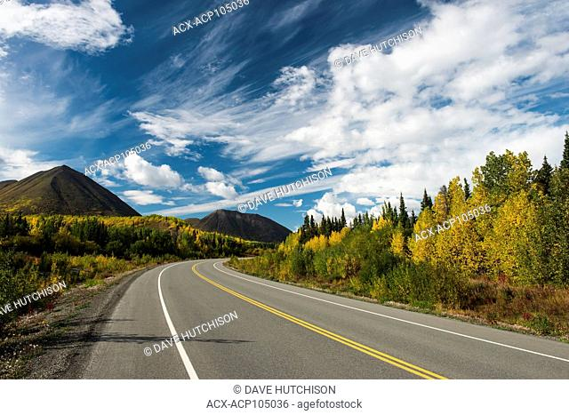 Fall colours Kluane National Park, Yukon, Canada