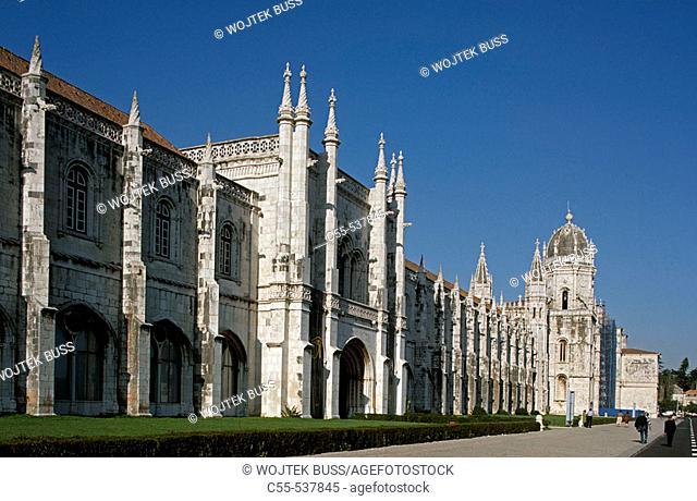 Monastery of the Hieronymites, Lisbon. Portugal