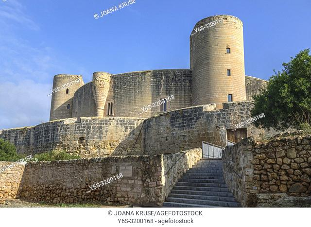 Bellver Castle, Mallorca, Balearic Islands, Spain, Europe
