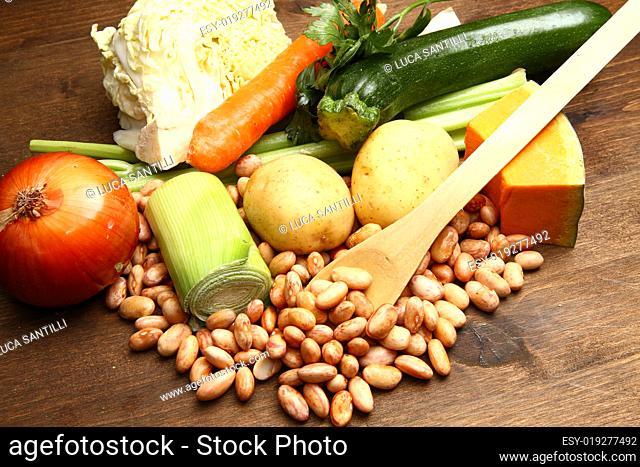 minestrone ingredients