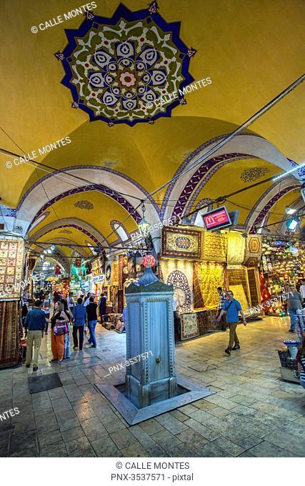 Turkey, Istambul, Grand Bazaar, interior