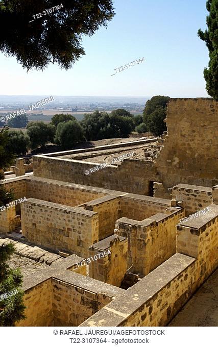 Cordoba (Spain). Guard Corps in the city Califal de Medina Azahara