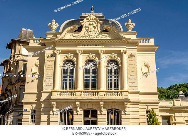 Theatre of Chatel-Guyon, Puy de Dome, Auvergne, France