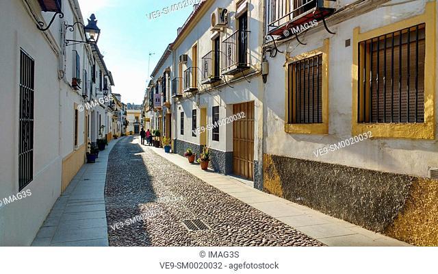 Ennmedio Street, Córdoba, Andalusia, Spain