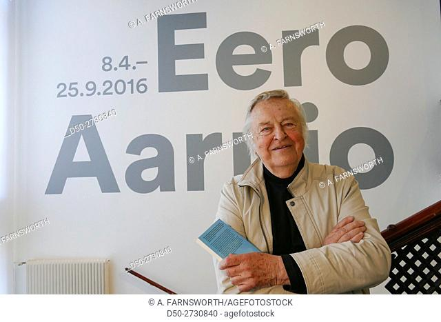 HELSINKI FINLAND Eero Aarnio (born 21 July 1932, in Helsinki) is a Finnish interior designer, noted for his innovative furniture designs in the 1960s