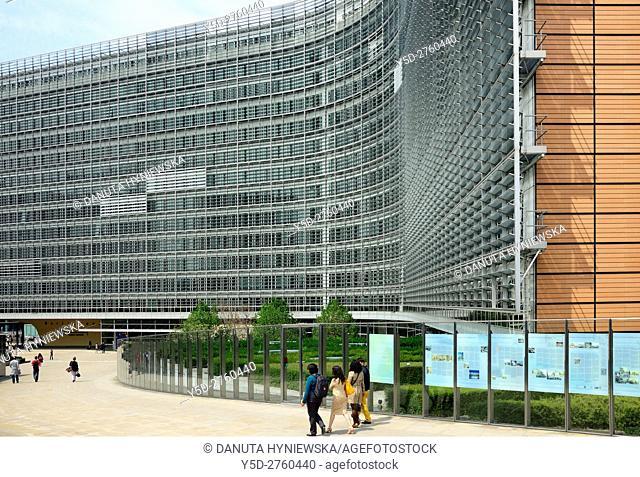 Berlaymont building, European Commission headquarters, Brussels, Belgium, Europe
