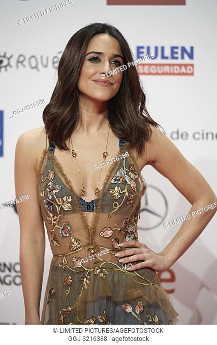 Macarena Garcia attends the 23rd edition of Jose Maria Forque Awards at Palacio de Congresos on January 13, 2019 in Zaragoza, Spain