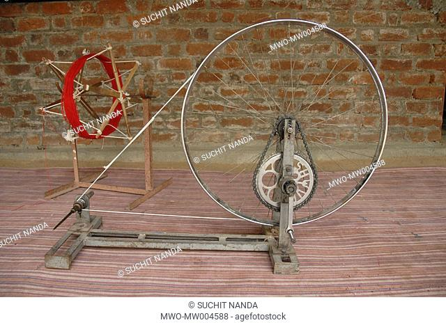 Charkha Stock Photos and Images   age fotostock