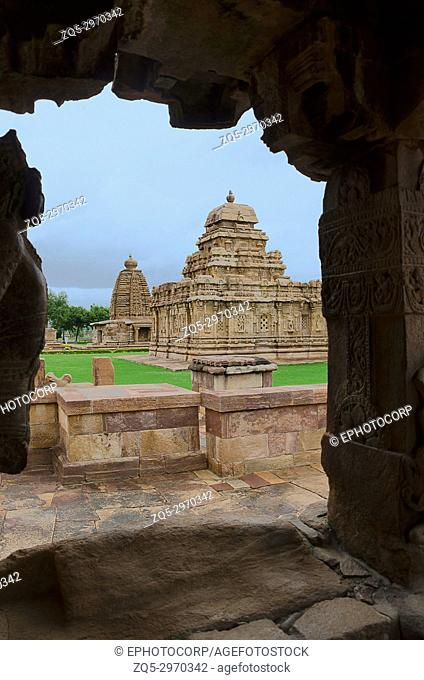Sangameshvara Temple , Pattadakal , UNESCO World Heritage site , Karnataka , India
