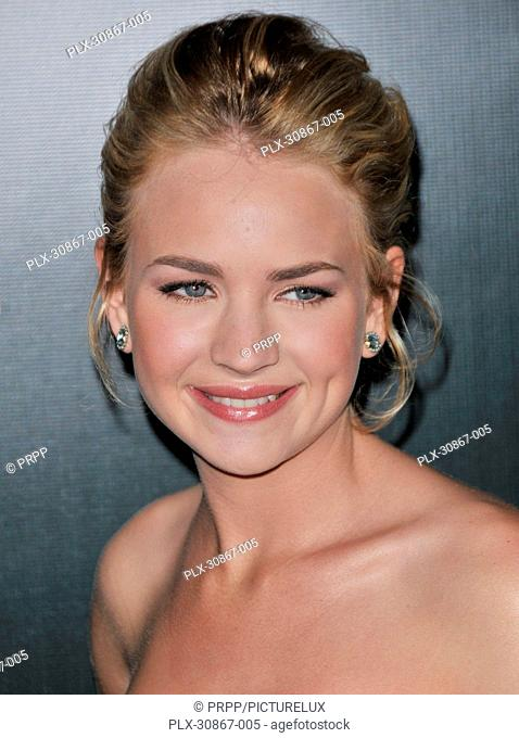 Brittany Robertson at the 13th Annual Costume Designers Guild Awards held at The Beverly Hilton Hotel in Beverly Hills, CA