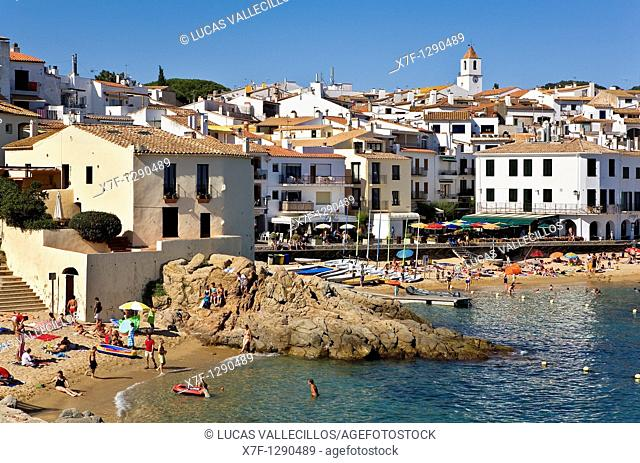 Calella de Palafrugell  Costa Brava  Girona province  Catalonia  Spain