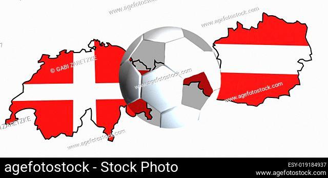 Schweiz-Österreich-Fussball