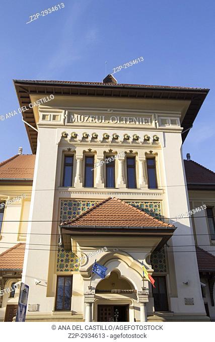 Olteniei museum of archeology in Craiova. Romania