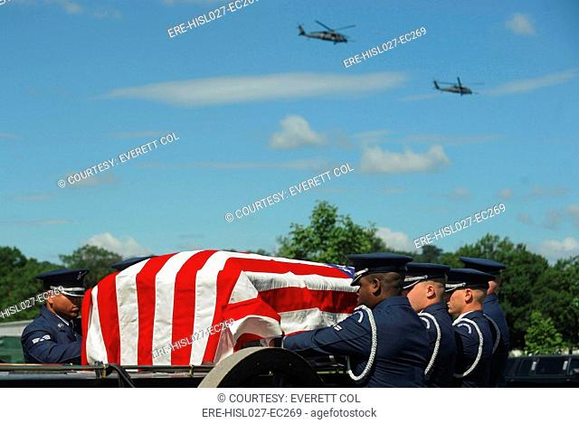 Funeral of US Air Force Capt. David A. Wisniewski who died July 2 2010 from injuries suffered during a helicopter crash in Afghanistan