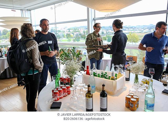 Lunch. Restaurant. Ficoba, Basque Coast International Fair. Irun. Gipuzkoa. Basque Country. Spain