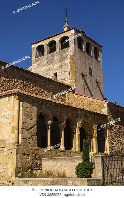 Romanesque church of San Clemente, Segovia city. Castilla León, Spain Europe