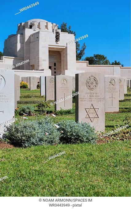 Jerusalem Brithish war cemetery