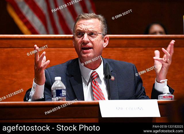 United States Representative Doug Collins (Republican of Georgia), speaks during a US House Judiciary Committee markup on H.R