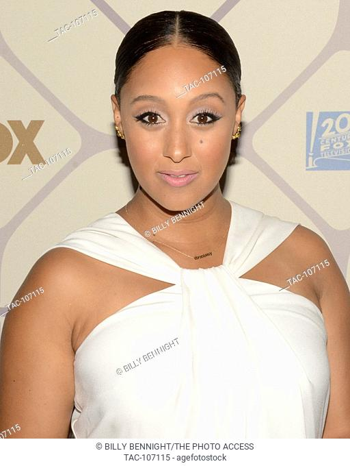 Actress Tamera Darvette Mowry-Housley attends the 67th Primetime Emmy Awards Fox after party on September 20, 2015 in Los Angeles, California