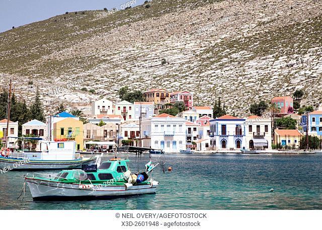 Greeek Island of Kastellorizo, Greece