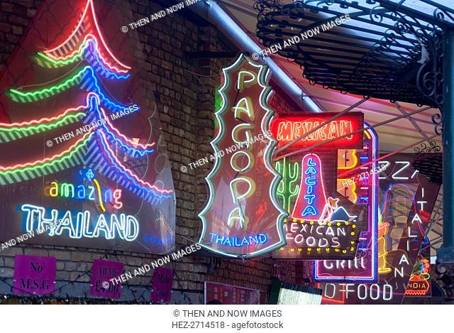Camden Lock, London, UK, 30/1/10. Creator: Ethel Davies