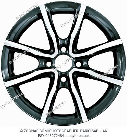 Racing Performance Aluminum Wheel Rim Cutout