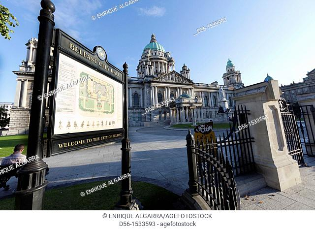 City Hall. Belfast. Northern Ireland