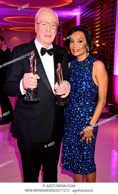 Aftershow party of the 28th European Film Awards at Sofitel Hotel Featuring: Michael Caine, Shakira Caine Where: Berlin, Germany When: 12 Dec 2015 Credit:...