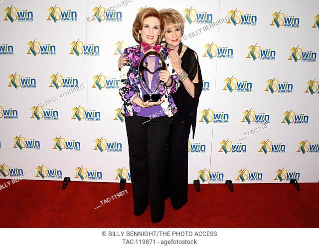 Kat Kramer and Karen Sharpe Kramer arrives at the 18th Annual Women's Image Awards at Skirball Cultural Center on February 17, 2017 in Los Angeles, California
