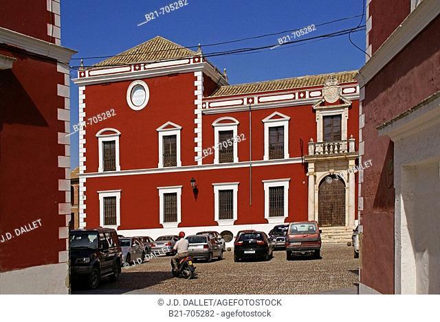 Spain-Cordoba-Andalusia-    'Palacio Ducal' (Dukes Palace) at Fernan Nuñez