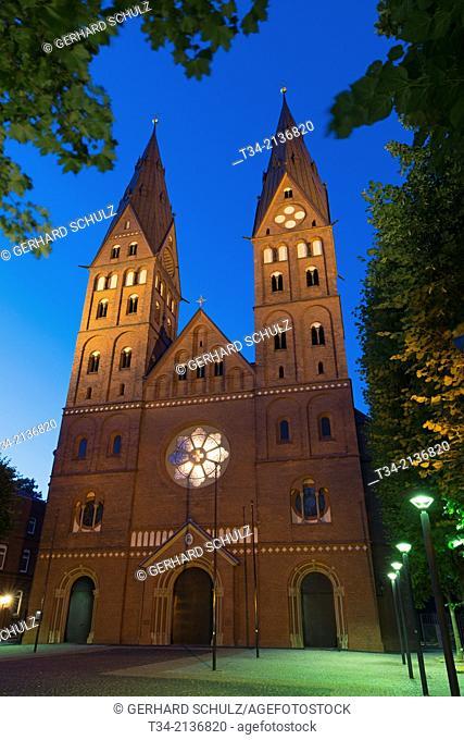 St. Mary's Cathedral of Hamburg, Germany
