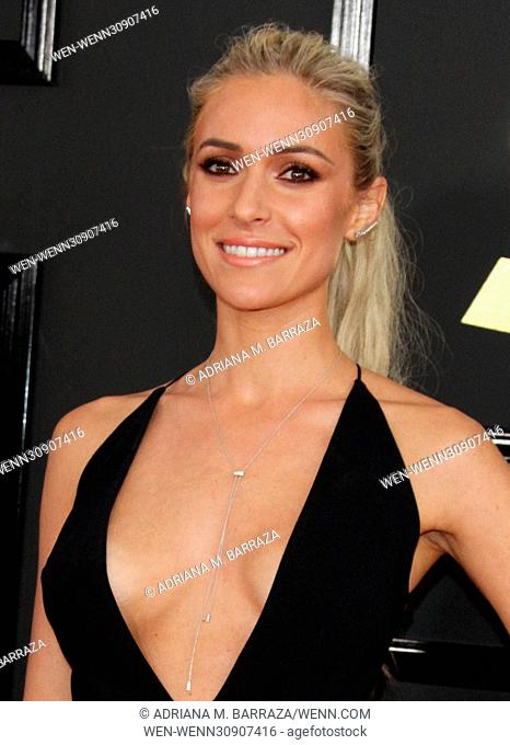 59th Annual GRAMMY Awards held at the Staples Center - Arrivals Featuring: Kristen Cavallari Where: Los Angeles, California