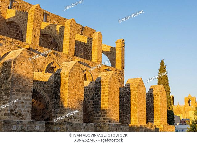 Sinan Pasha Mosque, formerly Church of Sts. Peter and Paul (1359), Famagusta, Northern Cyprus