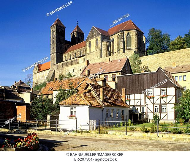Cathedral Quedlinburg Saxoy-Anhalt Germany