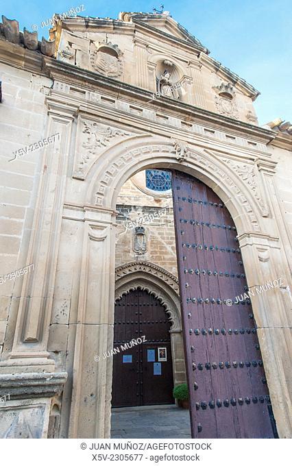 Real Monasterio de Santa Clara. Ubeda. Jaen. Andalucia. Spain