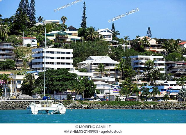 France, New Caledonia, Grande-Terre, Southern Province, Noumea, Bay Orphanage