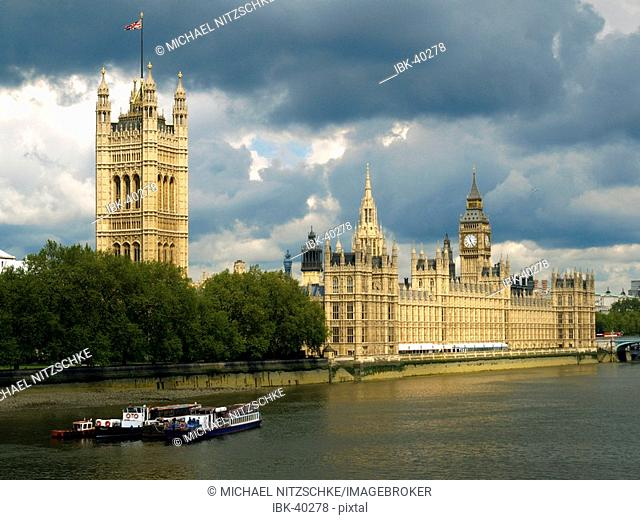 The Houses of Parliament, London, Great Britain
