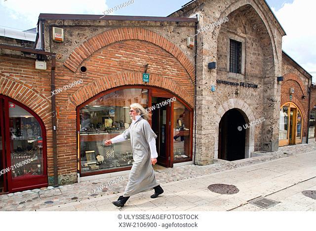 brusa bezistan, old market, bascarsija, sarajevo, bosnia and herzegovina, europe