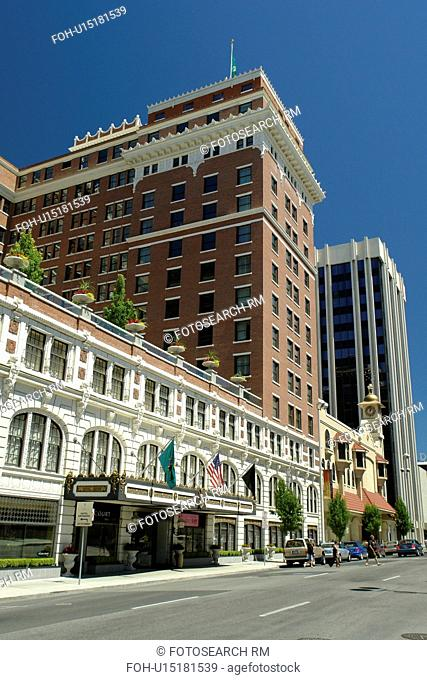 Spokane, WA, Washington, downtown, The Davenport Hotel 1914