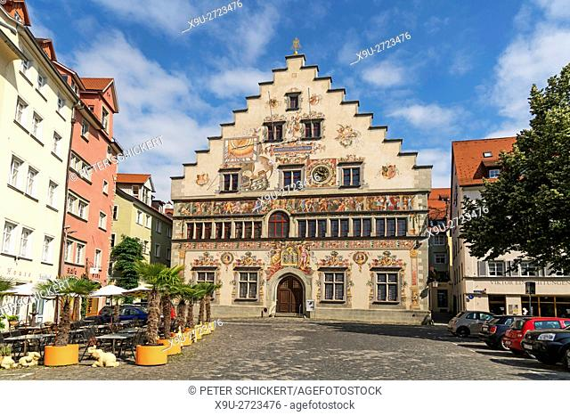 old town hall in Lindau, Bavaria, Germany