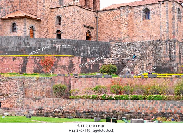Coricancha Temple, Cuzco, Peru, 2015. Creator: Luis Rosendo