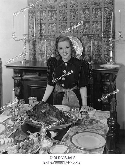 Thanksgiving hostess