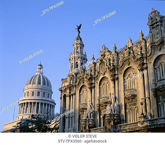 Capitol building, Capitolio, Cuba, Gran teatro de la habana, Grand theatre, Habana, Havana, Holiday, Landmark, Tourism, Travel