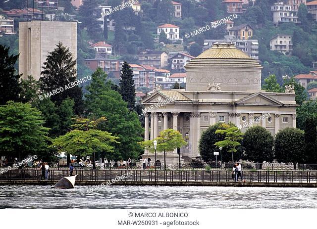 europe, italy, lombardia, como, mausoleo voltiano