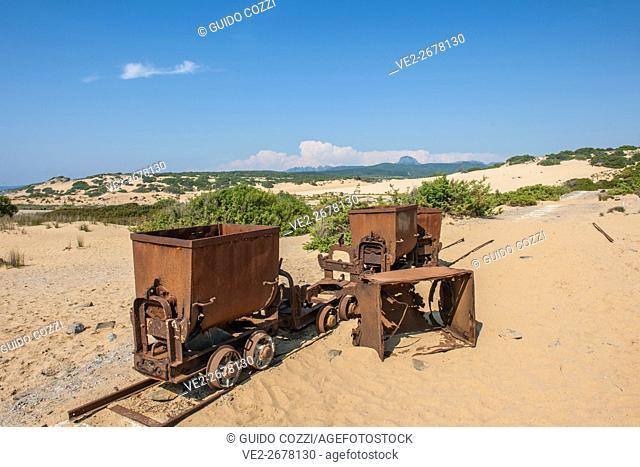 Sand dunes of Piscinas, Sardegna (Sardinia), Italy