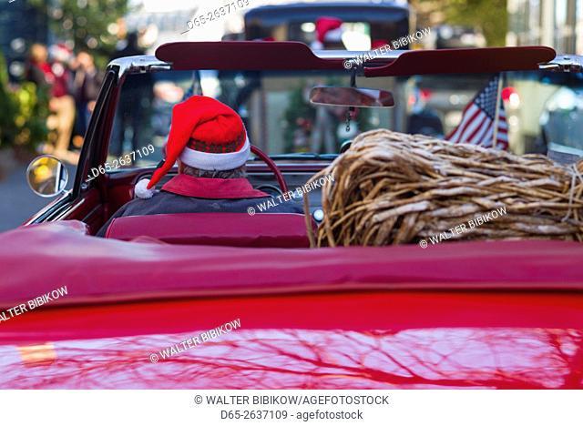 USA, Massachusetts, Marblehead, Christmas Parade, , detail