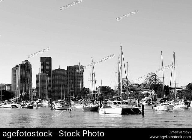 Hafen in Brisbane