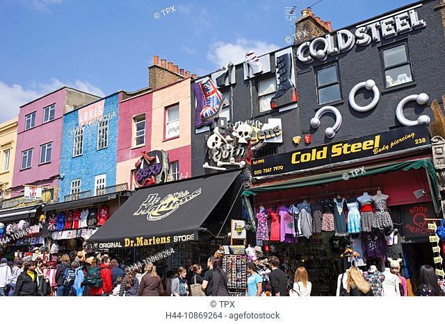 England, London, Camden, Camden High Street