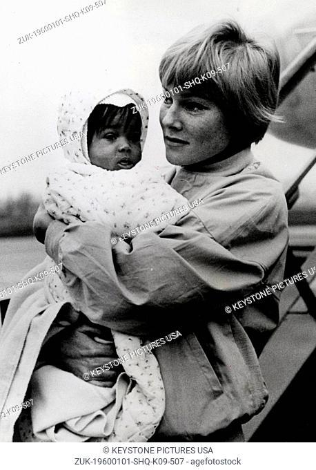 Apr 01, 1965 - London, England, United Kingdom - MAY BRITT (born March 22 circa 1933, Sweden; name pronounced 'My Britt') had a brief career as movie actress in...