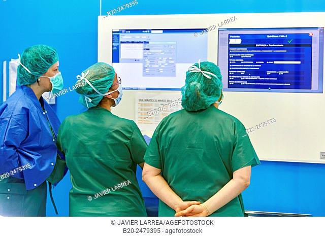 Operating room, Ambulatory Surgery, Hospital Donostia, San Sebastian, Gipuzkoa, Basque Country, Spain